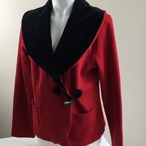 LRL Red Toggle Jacket